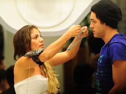 Nasser tirou cinco pessoas da Prova do Líder, mas duas poderão participar Foto: TV Globo / Divulgação
