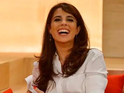Aos 37 anos, a atriz é a mais jovem das novas integrantes do programa Foto: Fernando Borges / Terra