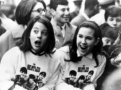 Beatles se tornou verdadeira mania no Reino Unido e sensação se espalhou pelo mundo Foto: Getty Images