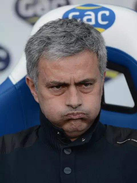 Mourinho teria se sentido traído pelo elenco do Real Foto: Getty Images