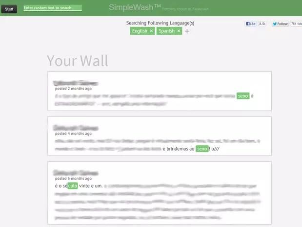 Buscas automáticas estão disponíveis em cinco idiomas, mas usuário pode buscar qualquer palavra Foto: Reprodução
