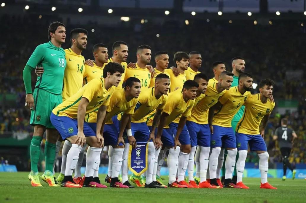 Brasil x Alemanha na final olímpica no Rio Foto: Getty Images