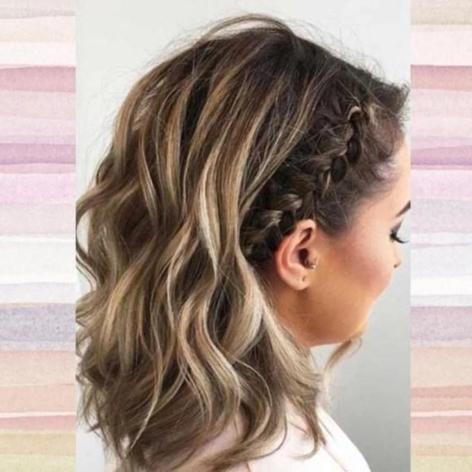Tranças para cabelos curtos: 20 inspirações para você fazer o penteado