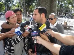 El diputado del partido político bolivianoConvergencia Nacional, Luis Felipe Dorado. Foto: Reproducción/ @doradolipe