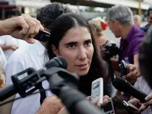 La cubana Yoani Sánchez, autora de Generación Y, es una de las blogueras más famosas Foto: Reuters en español