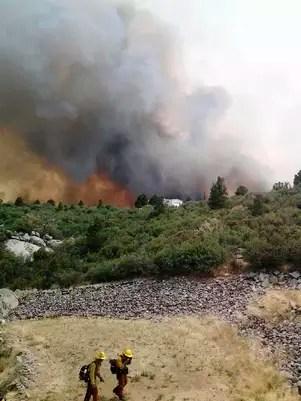 19 bomberos de Arizona murieron en el incendio.  Foto: Reuters en español