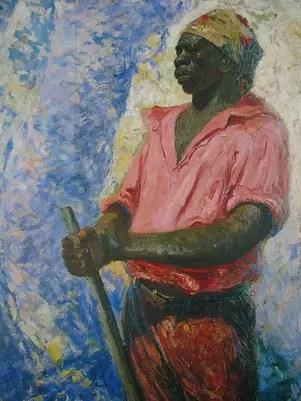 Pintuira retrata o herói nacional Zumbi dos Palmares Foto: Wikimedia Foundations / Reprodução