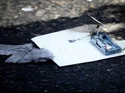 Cabe mencionar que el artefacto es de fabricación casera y se encontraba en el interior de un sobre de papel de 22 por 18 centímetros, con una envoltura de plástico conocida como burbuja, y es de bajo explosivo, su activación es electromecánica. Foto: PGJDF / Terra