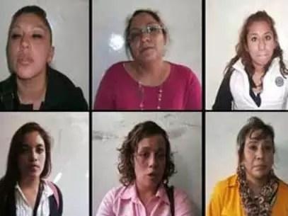 Las mujeres fueron detenidas el martes 29 de enero. Foto: Especial / Reforma