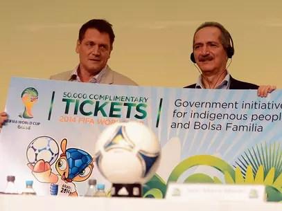Ingressos da Copa estão sendo vendidos de forma ilegal Foto: Getty Images