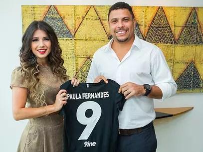 Paula será agenciada pela empresa de Ronaldo Foto: Bruno Soares / Divulgação