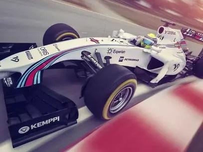 Felipe Massa destacou que a recepção positiva que teve na escuderia inglesa ajudou a se sentir mais solto novamente Foto: Williams Martini Racing / Divulgação