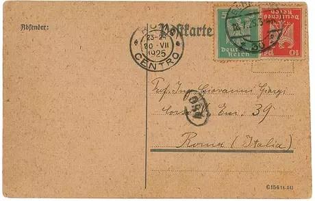 Carta assinada por Albert Einstein Foto: RR Auction / Reprodução
