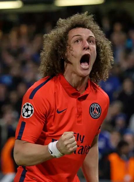 David Luiz forçou a prorrogação quando todos esperavam a classificação do Chelsea Foto: Matt Dunham / AP