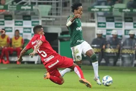Palmeiras x Inter será um dos confrontos nas quartas-de-final da Copa do Brasil