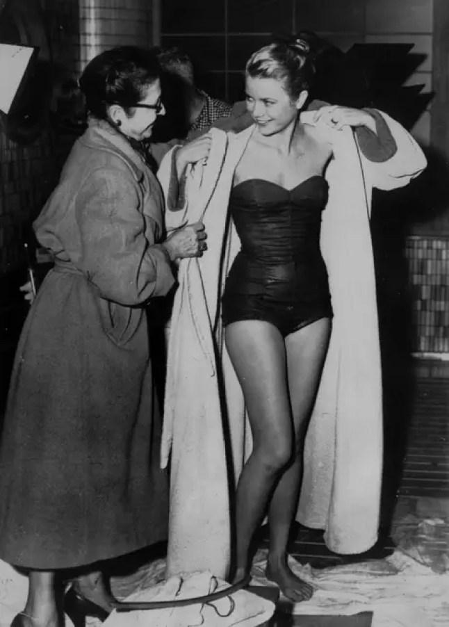 Grace Kelly en 1955.