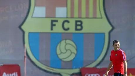 Ernesto Valverde, técnico do Barcelona