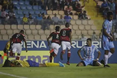 Flamengo passou fácil pelo Ji-Paraná na estreia na Copa SP com goleada (Foto: Staff/Flamengo)