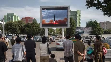 Nem todos os testes de míssil realizados pela Coreia do Norte no ano passado foram bem-sucedidos