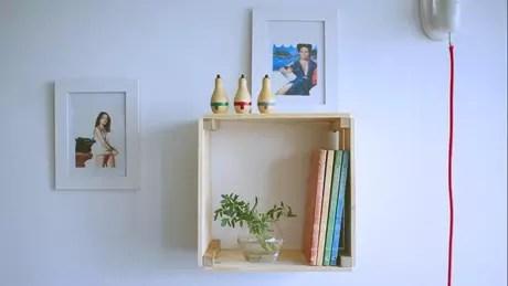 41. Com o nosso tutorial de como fazer nichos de madeira, você pode fazer um bem parecido com esse