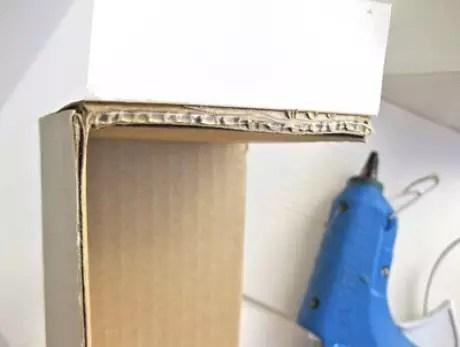 9. Faça seus próprios nichos de papelão!