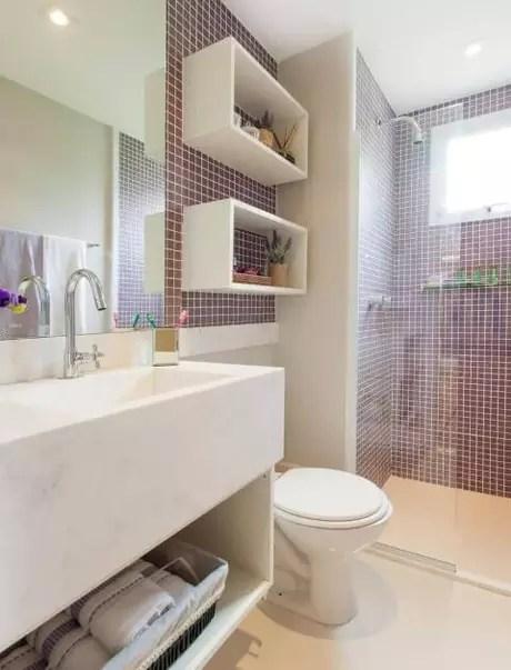 2. Os nichos podem ser usados nos mais diversos cômodos da casa. Projeto de Sesso e Dalanezi