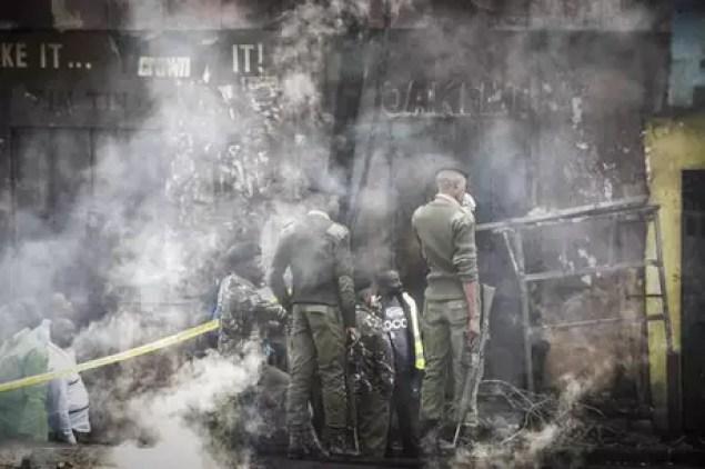 Incêndio em mercado no Quênia deixa 15 mortos e 70 feridos