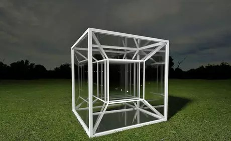 Um tesserato é um análogo de 4 dimensões de um cubo, assim como um cubo é um análogo tridimensional de um quadrado.