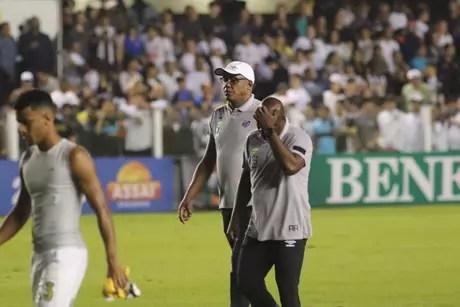 """Chulapa terminou o jogo """"com sede"""""""