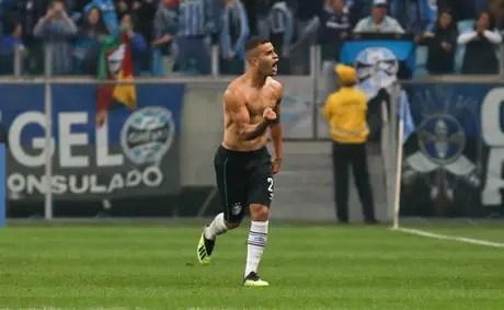 Alisson marcou o segundo gol do Grêmio