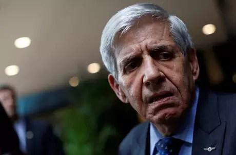 Ministro Augusto Heleno em Brasília 4/12/2018 REUTERS/Adriano Machado