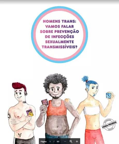 1546627757819 - Ministério retira do ar cartilha para população trans