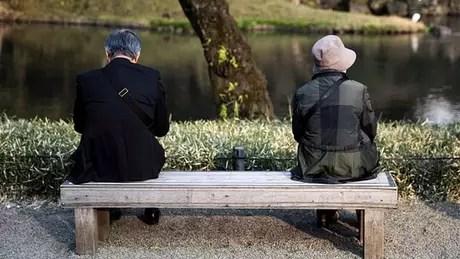 Idosos já respondem por um terço da população do Japão