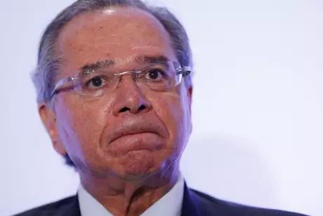 Ministro da Economia, Paulo Guedes 08/04/2019 REUTERS/Adriano Machado
