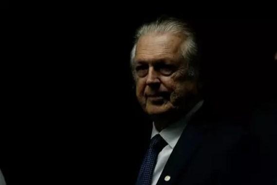 Presidente do PSL, deputado Luciano Bivar, no Congresso Nacional