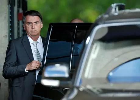 Presidente Jair Bolsonaro, em Brasilia. 27/11/2018. REUTERS/Adriano Machado