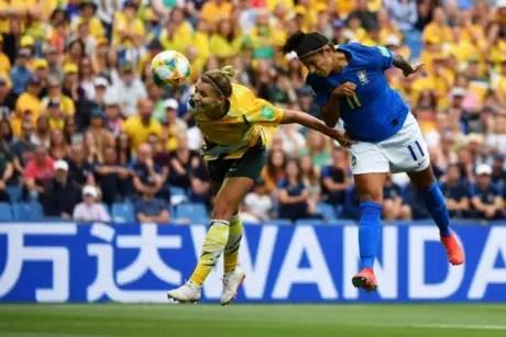 5d02829b6a8fb - POR 3 A 2: Marta e Cristiane fazem gols, mas Brasil perde para a Austrália de virada