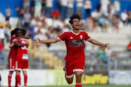 Gustavo Tocantins, ex-Corinthians, subiu para a segunda divisão do Campeonato Português (Foto:Vilafranquense)
