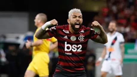 Gabigol marcou na vitória (Osvaldo Lima/Photo Premium/Lancepress!)