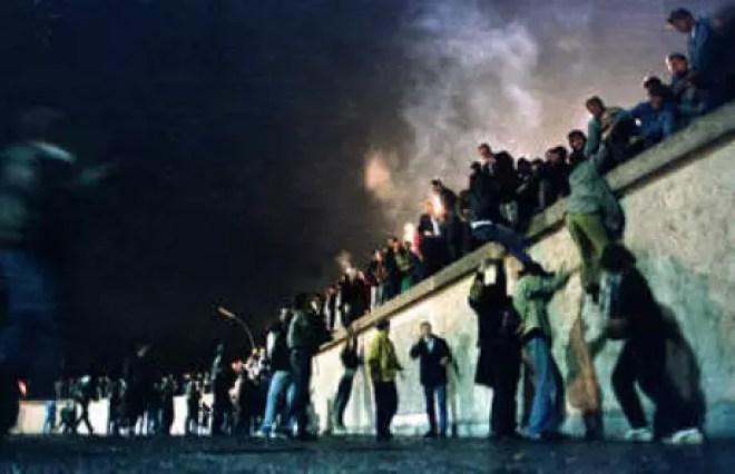 Berlim, novembro de 1989.