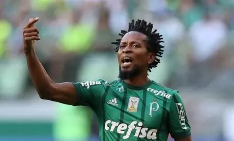 Zé Roberto disputou mais de 130 partidas pelo Palmeiras e conquistou dois títulos (Cesar Greco/Palmeiras)