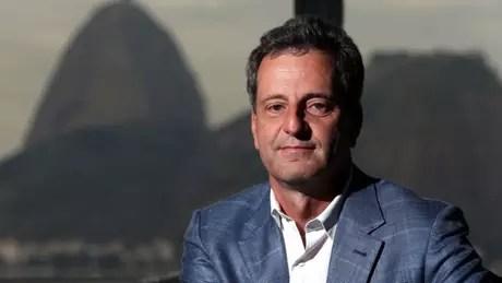 O presidente Rodolfo Landim testou negativo para coronavírus (Foto: Fábio Motta/Estadão Conteúdo)