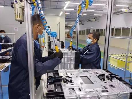 BYD fabrica baterias para veículos elétricos . Fábrica da BYD em Manaus entrou em operação neste mês Foto: BYS/DIVULGAÇÃO / Estadão