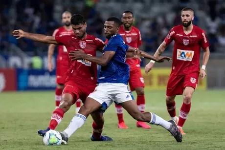 Cruzeiro e CRB se enfrentaram no dia 11 de março de 2020 (Foto: Divulgação/Gustavo Aleixo)