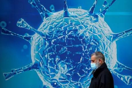 Man undergoes virus illustration in Oldham, UK 03/08/2020 REUTERS/Phil Noble