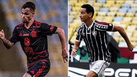 Maarcelo Cortes / Flamengo - Mailson Santana/ Fluminense F.C