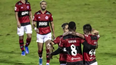 Fla thrashed Madureira 5-1 (Photo: Marcelo Cortes / Flamengo)