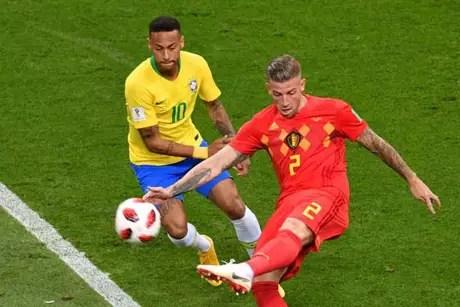 Brasil e Bélgica estão no 'pódio' do ranking da Fifa (Foto: AFP)