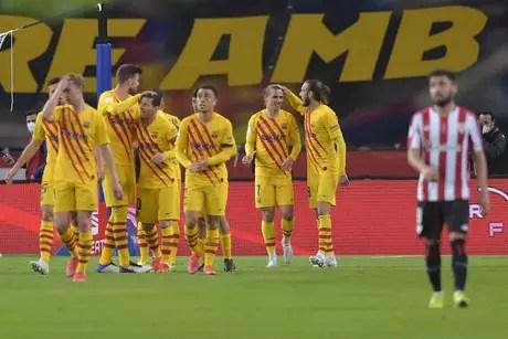 Barcelona é o maior vencedor da história da Copa do Rei (Foto: CRISTINA QUICLER / AFP)