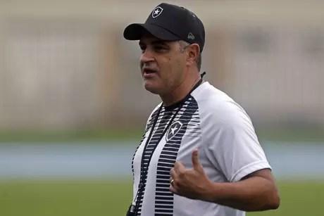 Marcelo Chamusca é o treinador do Botafogo (Foto: Vítor Silva/Botafogo)